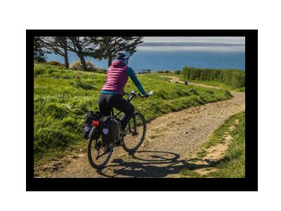 vélo sur 9 parcours de la Bretagne.